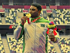 Haider Ali makes history by winning Pakistan's first-ever gold medal at Tokyo Paralympics