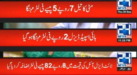 petrol prices increase