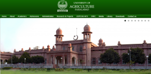 University of Agriculture, Faisalabad: